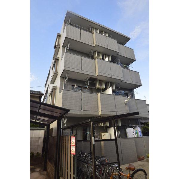 愛知県名古屋市昭和区、川名駅徒歩7分の築23年 4階建の賃貸マンション