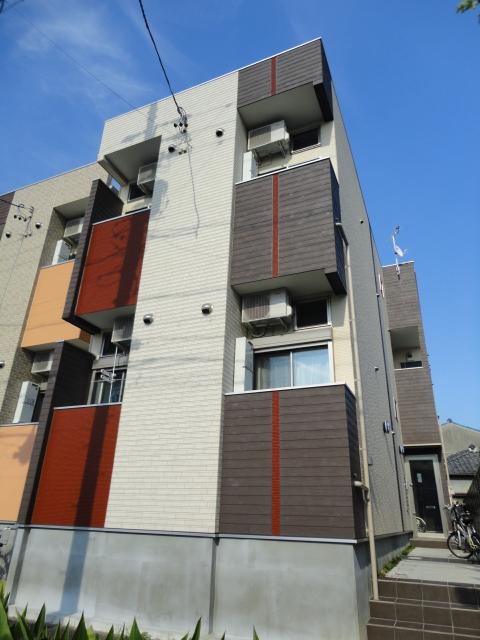 愛知県名古屋市東区、千種駅徒歩14分の築2年 2階建の賃貸アパート