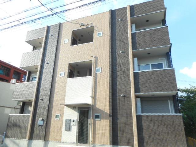 愛知県名古屋市東区、森下駅徒歩18分の新築 3階建の賃貸アパート
