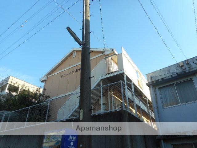 愛知県名古屋市千種区、今池駅徒歩16分の築26年 2階建の賃貸アパート