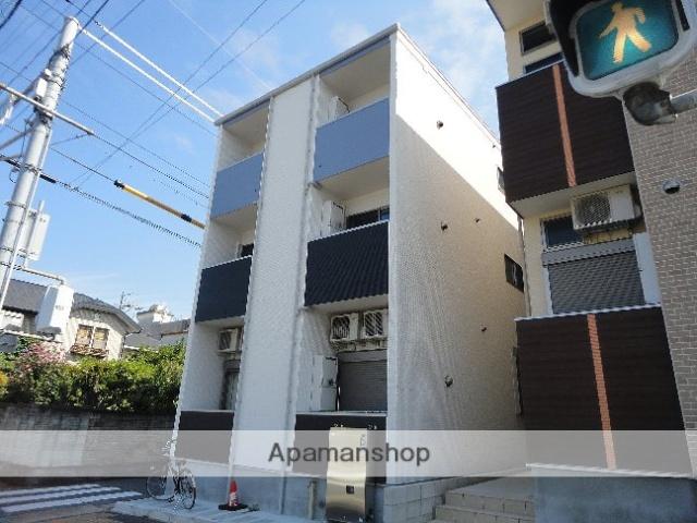 愛知県名古屋市東区、千種駅徒歩14分の築2年 3階建の賃貸アパート