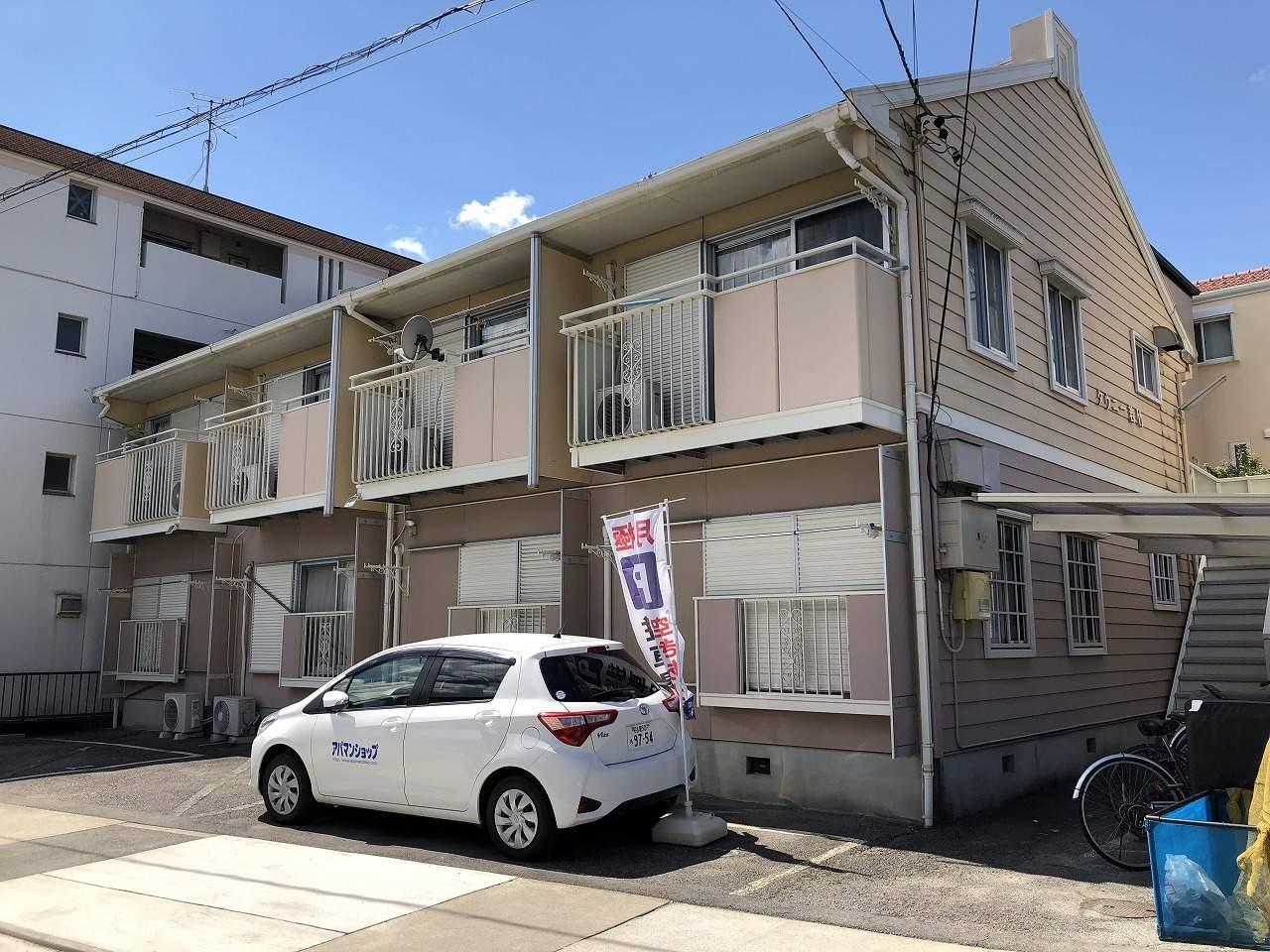 愛知県名古屋市千種区、千種駅徒歩14分の築30年 2階建の賃貸アパート