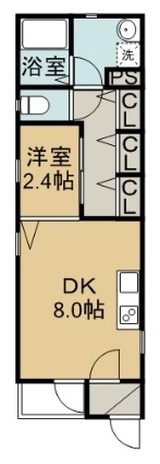 愛知県名古屋市東区、新栄町駅徒歩10分の新築 3階建の賃貸マンション