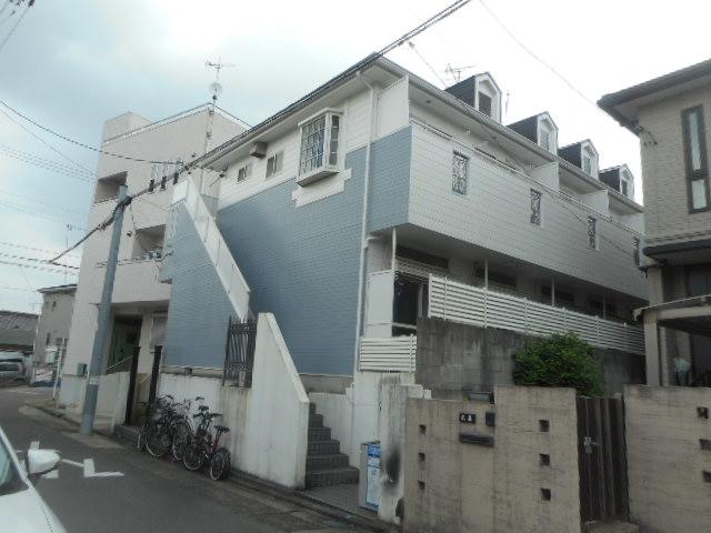 愛知県名古屋市千種区、茶屋ヶ坂駅徒歩16分の築25年 2階建の賃貸アパート