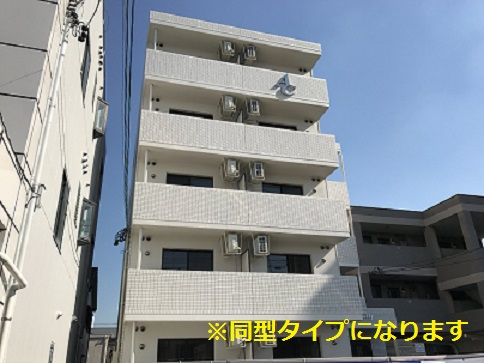 愛知県名古屋市中川区、高畑駅徒歩24分の新築 5階建の賃貸マンション