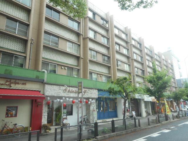 愛知県名古屋市東区、高岳駅徒歩7分の築42年 5階建の賃貸マンション
