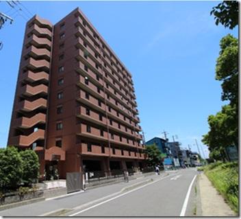 愛知県名古屋市西区、中小田井駅徒歩16分の築17年 11階建の賃貸マンション