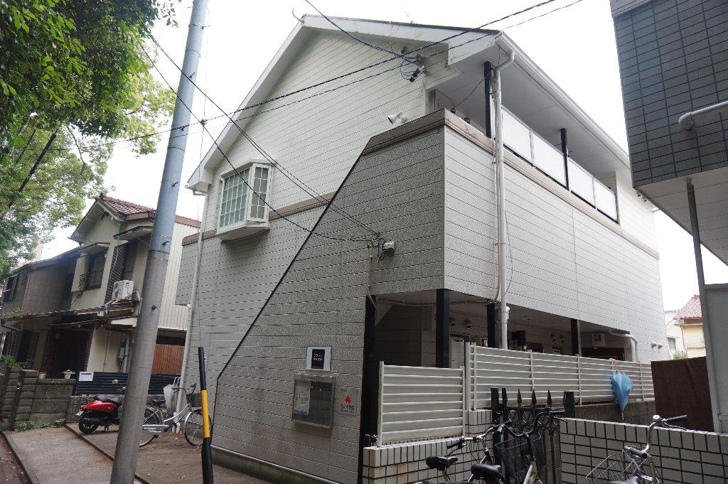 愛知県名古屋市昭和区、川名駅徒歩9分の築23年 2階建の賃貸アパート