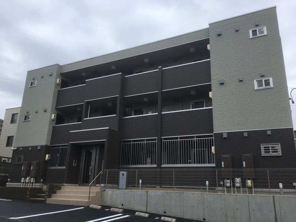 愛知県名古屋市千種区、鶴舞駅徒歩14分の新築 3階建の賃貸アパート