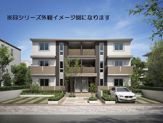 愛知県名古屋市千種区、千種駅徒歩14分の新築 3階建の賃貸アパート