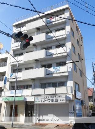 愛知県名古屋市千種区、自由ヶ丘駅徒歩5分の築42年 6階建の賃貸マンション