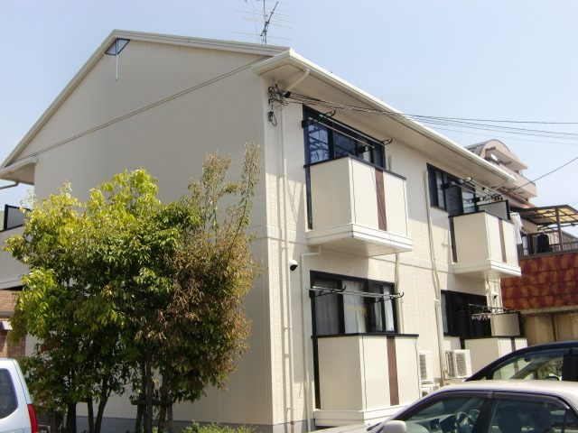 愛知県名古屋市東区、守山自衛隊前駅徒歩18分の築20年 2階建の賃貸アパート