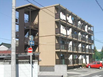 愛知県名古屋市北区、比良駅徒歩18分の築43年 4階建の賃貸マンション