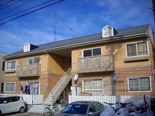 愛知県名古屋市北区、味鋺駅徒歩22分の築26年 2階建の賃貸アパート