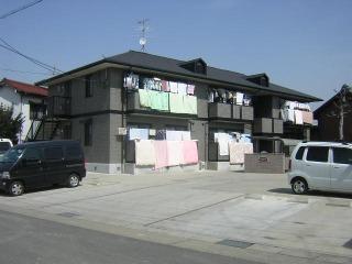 愛知県名古屋市北区、味美駅徒歩18分の築15年 2階建の賃貸アパート