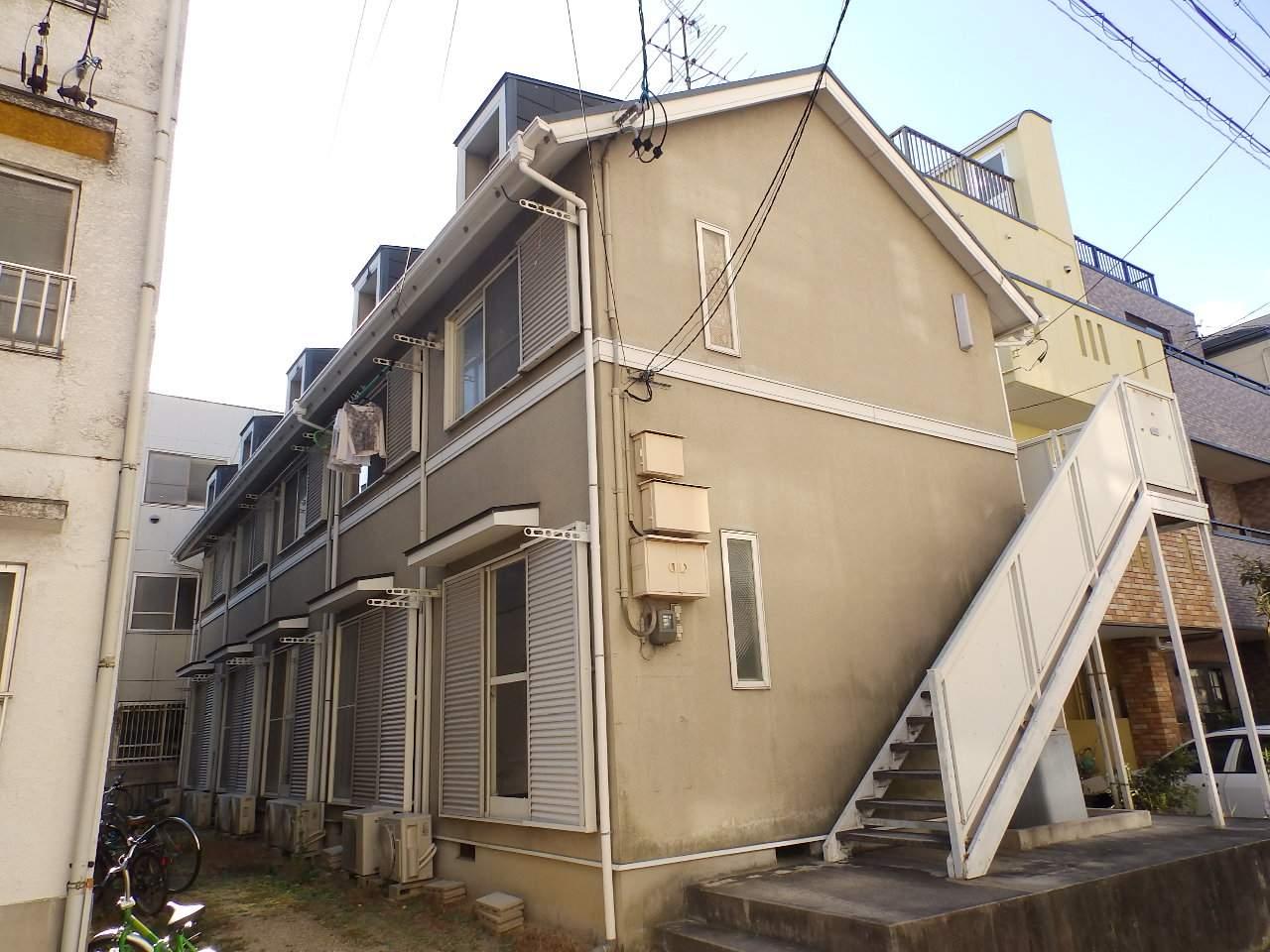 愛知県名古屋市千種区、今池駅徒歩8分の築26年 2階建の賃貸アパート