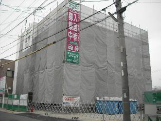 愛知県名古屋市北区、比良駅徒歩17分の築6年 3階建の賃貸アパート