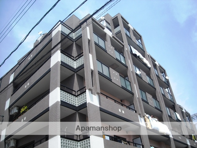 愛知県名古屋市千種区、東山公園駅徒歩18分の築22年 7階建の賃貸マンション