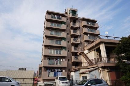 愛知県名古屋市千種区、茶屋ヶ坂駅徒歩10分の築37年 8階建の賃貸マンション