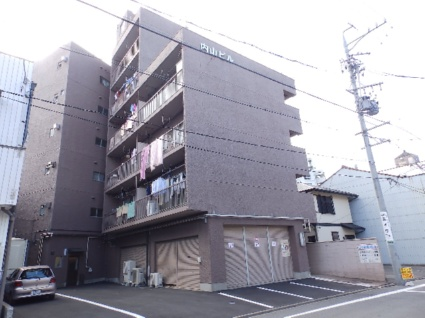 愛知県名古屋市千種区、千種駅徒歩9分の築43年 6階建の賃貸マンション