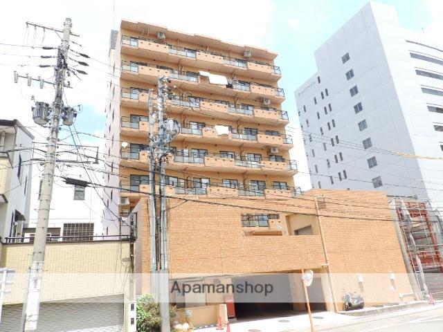 愛知県名古屋市東区、新栄町駅徒歩8分の築21年 9階建の賃貸マンション
