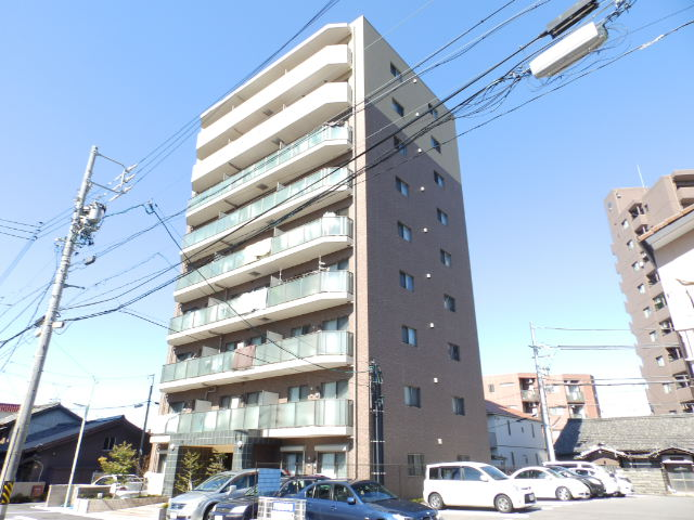 愛知県名古屋市東区、千種駅徒歩11分の築6年 9階建の賃貸マンション