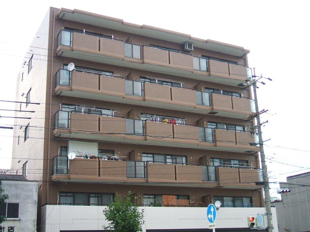 愛知県名古屋市昭和区、御器所駅徒歩15分の築20年 6階建の賃貸マンション