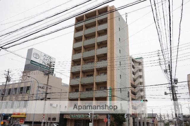 愛知県名古屋市昭和区、川名駅徒歩3分の築13年 9階建の賃貸マンション