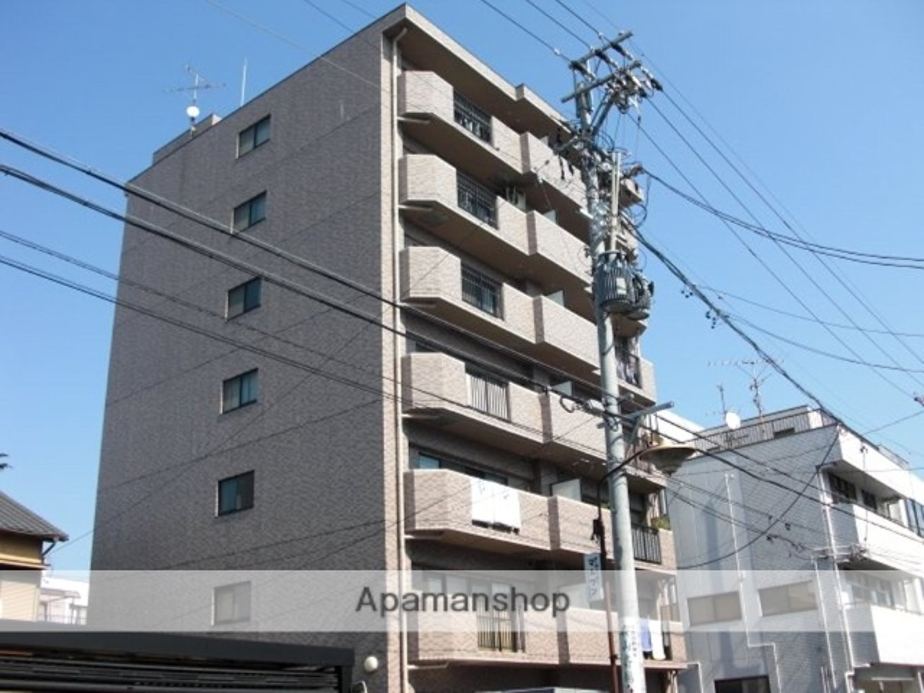 愛知県名古屋市昭和区、鶴舞駅徒歩17分の築21年 7階建の賃貸マンション