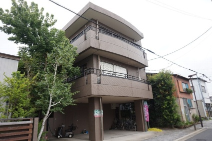 愛知県名古屋市昭和区、荒畑駅徒歩17分の築22年 3階建の賃貸マンション
