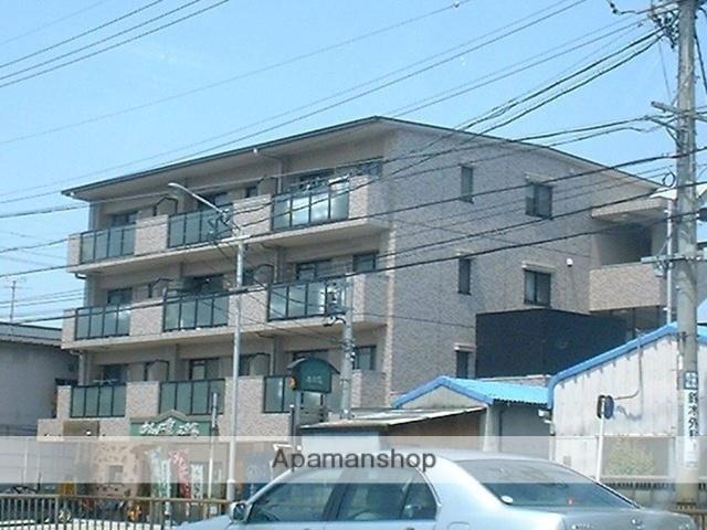 愛知県名古屋市千種区、茶屋ヶ坂駅徒歩15分の築20年 4階建の賃貸マンション