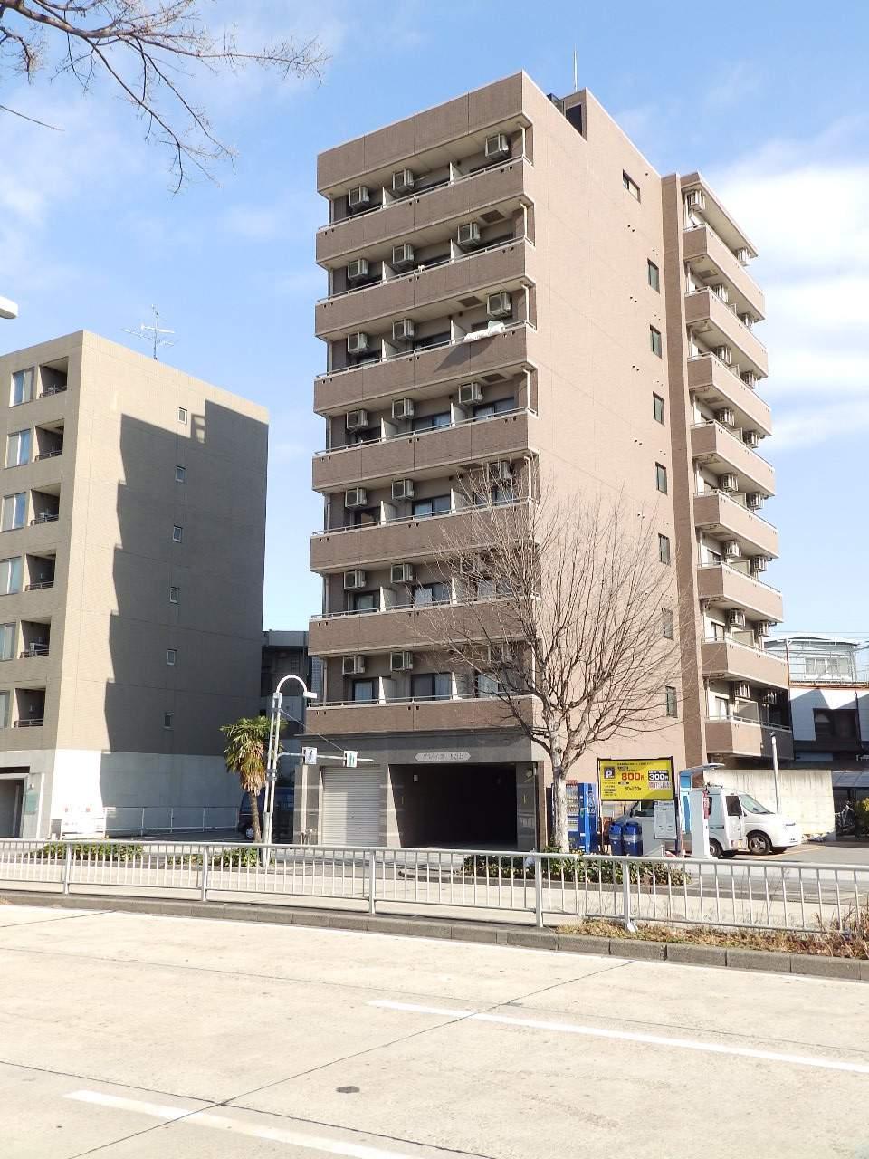 愛知県名古屋市千種区、今池駅徒歩9分の築15年 9階建の賃貸マンション