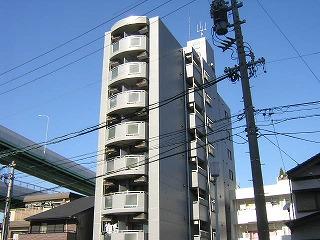 愛知県名古屋市北区、東大手駅徒歩10分の築24年 8階建の賃貸マンション