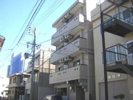 愛知県名古屋市北区、平安通駅徒歩10分の築22年 4階建の賃貸マンション