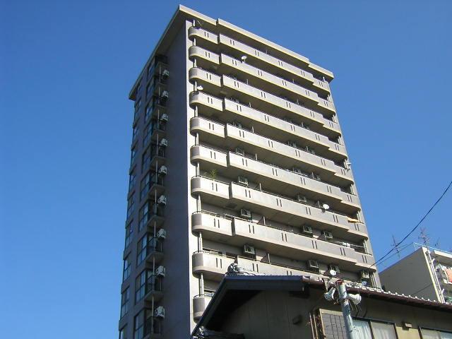 愛知県名古屋市西区、黒川駅徒歩15分の築23年 14階建の賃貸マンション