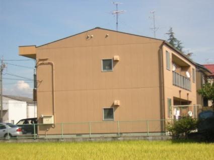 愛知県名古屋市北区、上飯田駅名鉄バスバス20分如意上ノ池停下車後徒歩2分の築25年 2階建の賃貸アパート