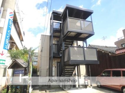 愛知県名古屋市千種区、池下駅徒歩12分の築19年 3階建の賃貸アパート