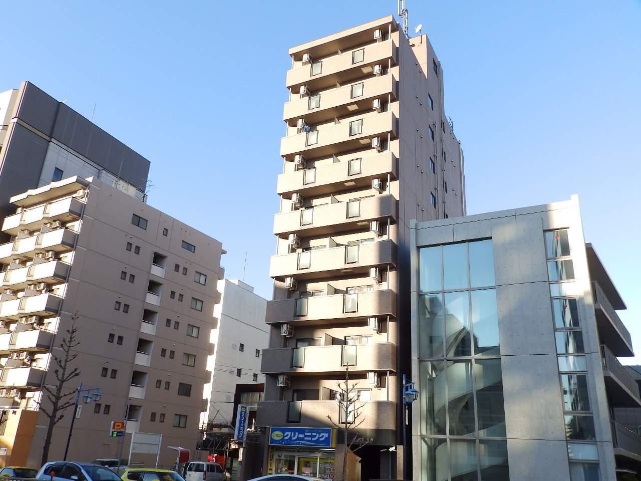 愛知県名古屋市中区、新栄町駅徒歩9分の築16年 10階建の賃貸マンション