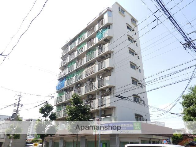 愛知県名古屋市千種区、千種駅徒歩11分の築33年 9階建の賃貸マンション