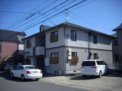 愛知県名古屋市北区、上飯田駅市バスバス20分楠支所下車後徒歩8分の築21年 2階建の賃貸アパート