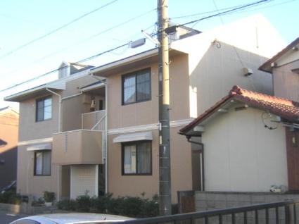 愛知県名古屋市北区、味鋺駅徒歩17分の築25年 2階建の賃貸アパート