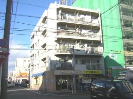 愛知県名古屋市北区、志賀本通駅徒歩18分の築34年 5階建の賃貸マンション