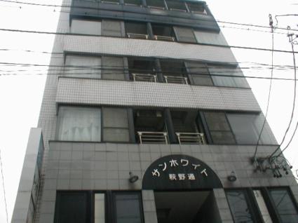 愛知県名古屋市北区、黒川駅徒歩15分の築25年 6階建の賃貸マンション