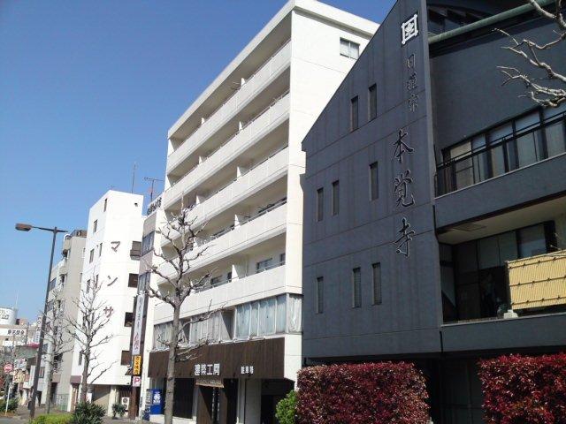 愛知県名古屋市東区、森下駅徒歩3分の築39年 7階建の賃貸マンション