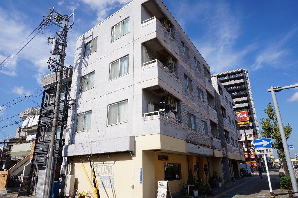 愛知県名古屋市東区、今池駅徒歩16分の築28年 4階建の賃貸マンション