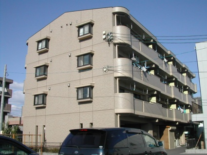 愛知県名古屋市北区、比良駅徒歩11分の築16年 4階建の賃貸マンション