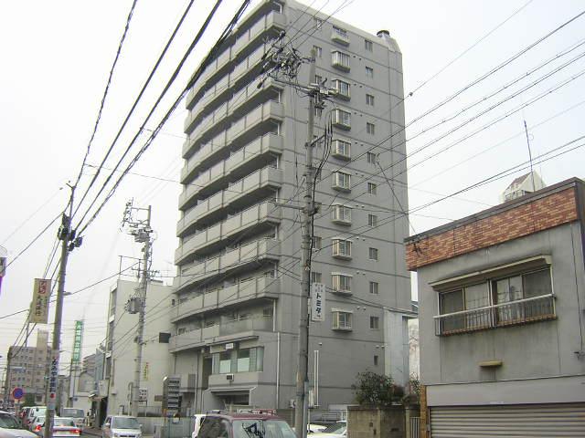 愛知県名古屋市北区、森下駅徒歩3分の築26年 12階建の賃貸マンション