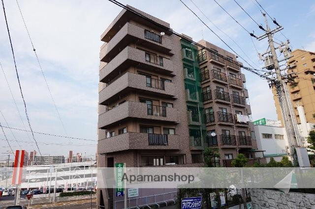 愛知県名古屋市千種区、自由ヶ丘駅徒歩16分の築22年 7階建の賃貸マンション
