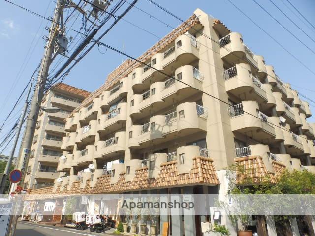 愛知県名古屋市千種区、今池駅徒歩8分の築38年 6階建の賃貸マンション