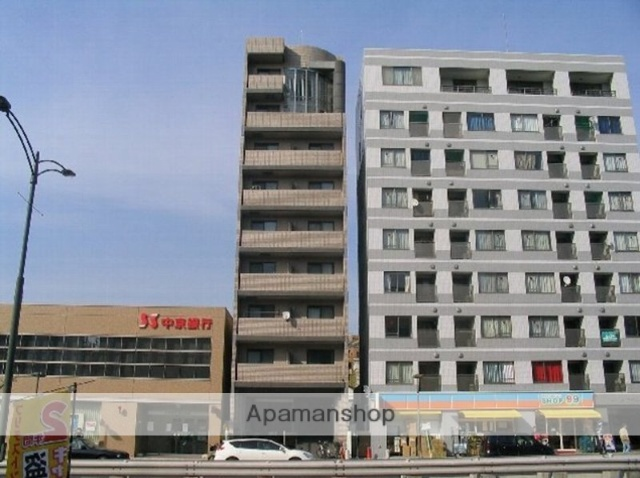 愛知県名古屋市千種区、本山駅徒歩10分の築19年 8階建の賃貸マンション